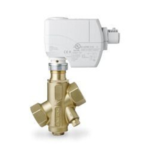Siemens 232-04301-55, PICV, 1/2 inch, 55 GPM max flow preset, with SSD Actuator, 3P (floating), SR