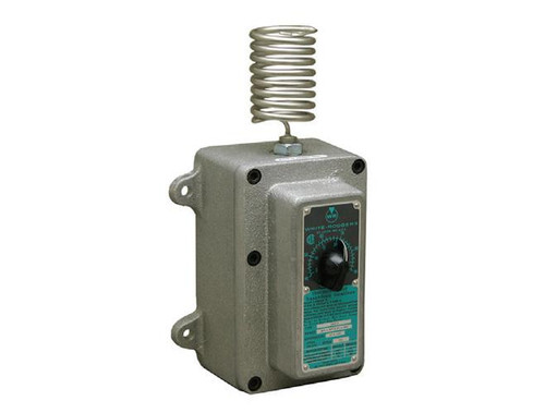 Qmark JC80EP, SPST Explosion Proof Line Voltage Industrial Thermostat rated 22 amps, 120-240V, 18 amps, 277V