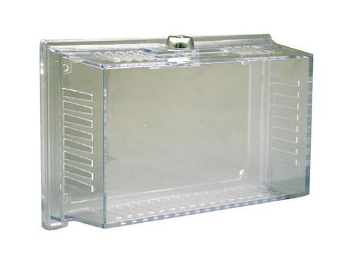 Qmark TC1, Clear plastic universal thermostat guard.