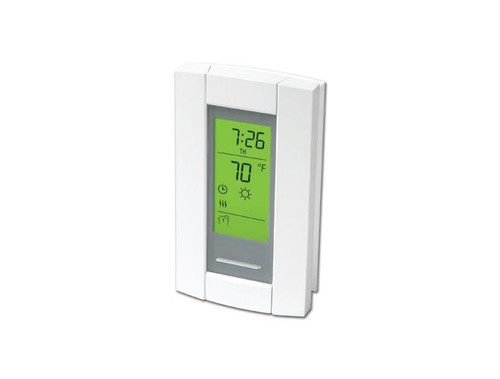 Qmark TL8230A1003/U, DPST 240V 4-wire Electronic Digital Line Voltage Thermostat rated 16.7 amps