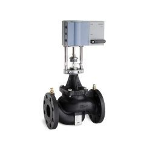 Siemens 239-07325, PICV, 2-1/2 inch, ANSI 250 154 GPM max flow, with SQV Actuator, Normally Closed SR