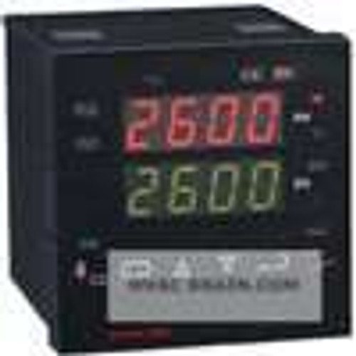 Dwyer Instruments 26130, Temperature/process controller, one relay output, with alarm