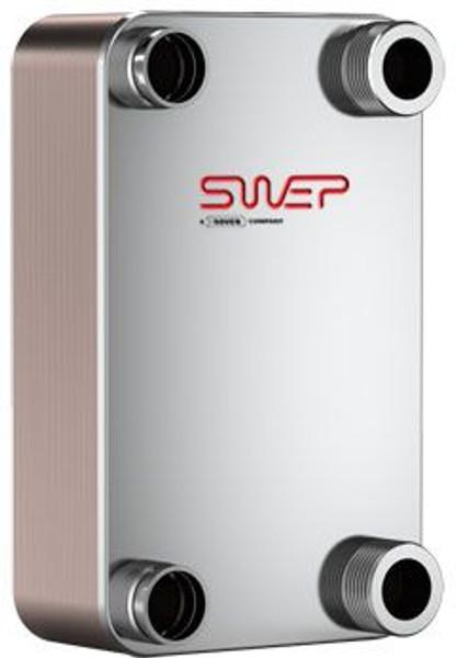 "SWEP B35H 10066-050-1, Brazed Plate Heat Exchanger, B35Hx50/1P-SC-S 4x1 1/2""NPT"