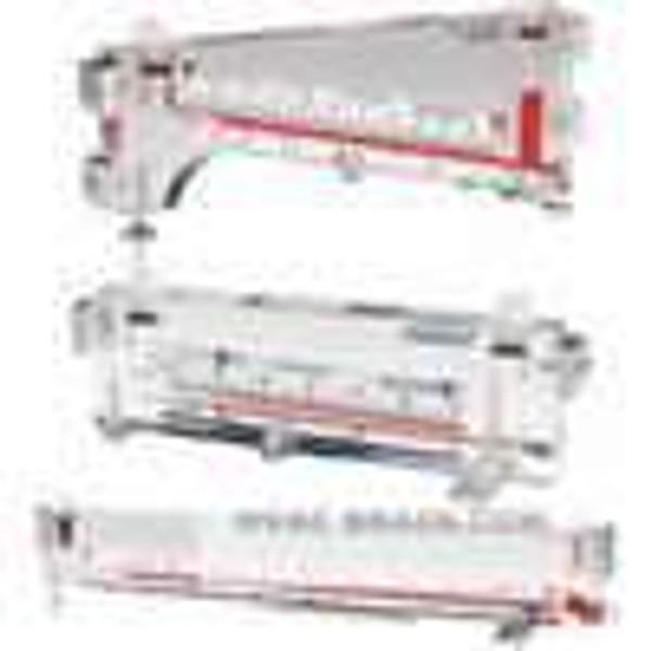 "Dwyer Instruments 115-AV, Air velocity gage kit, 05-0-25"" wc, 400-2000 FPM velocity, 6"" scale, Model 166-12 (12"") Pitot tube"