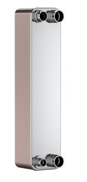SWEP B80H 12970-030-1, Brazed Plate Heat Exchanger, B80Hx30/1P-SC-S 16(27)+3x42U(27)