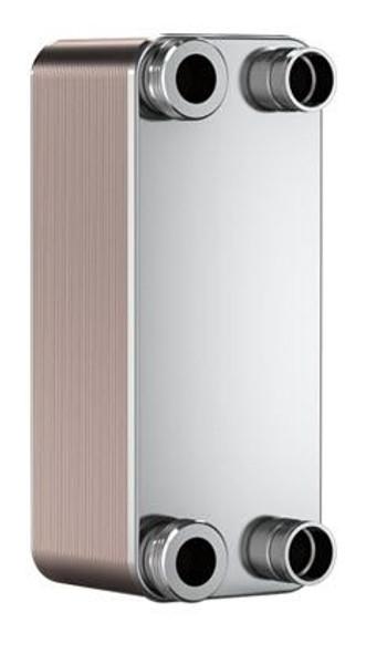 "SWEP B10T 15007-010-1, Brazed Plate Heat Exchanger, B10THx10/1P-SC-S 4x1""NPT"