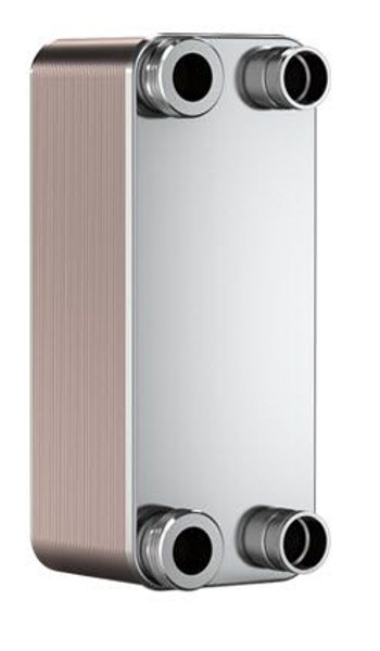 "SWEP B10T 15007-060-1, Brazed Plate Heat Exchanger, B10THx60/1P-SC-S 4x1""NPT"