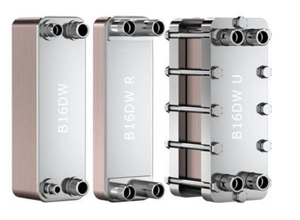 "SWEP B16DW 15043-030, Brazed Plate Heat Exchanger, B16DWHx30/1P-SC-S 4x1""NPT"