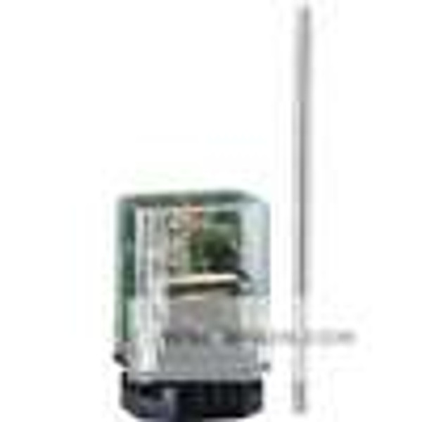 Dwyer Instruments LLC-115, Conductivity controller, 120 VAC, 10K ohm sensitivity, DIN mount socket style
