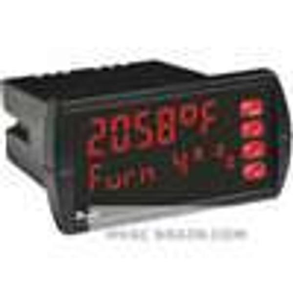 Dwyer Instruments LTI-121, Temperature panel meter, 85-265 VAC, 2 relays, 4-20 mA transmitter