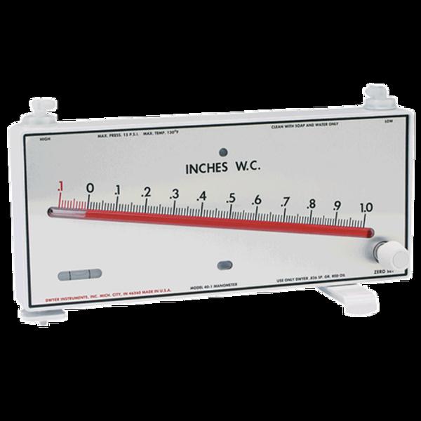 "Dwyer Instruments 40-1 MARK II MANOM 1-0-10""WC"