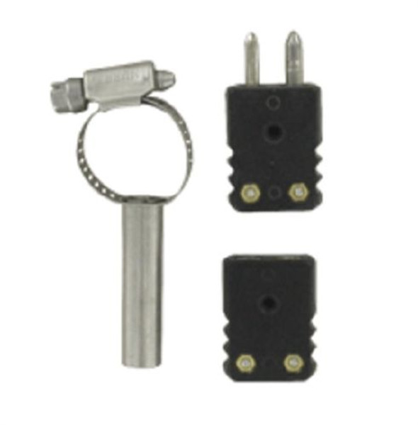 Dwyer Instruments 1568-0021, 8 IN PIPE TYPE BAYONET ADAPTOR