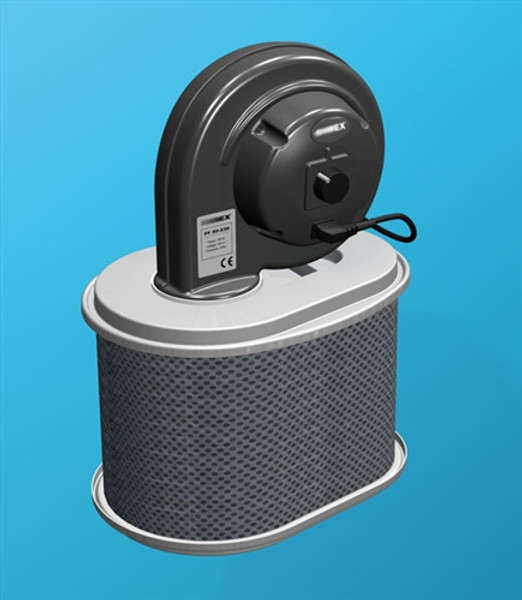 Movex LF 50PG_115, Portable filter with fan unit