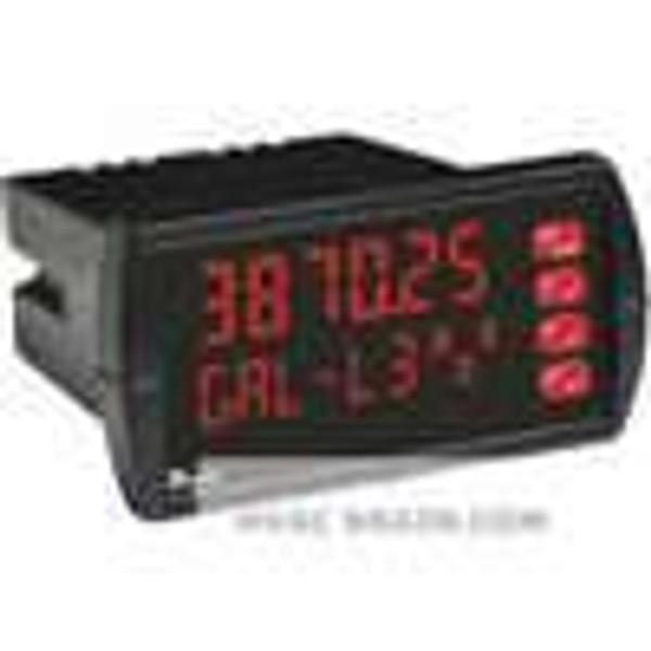 Dwyer Instruments MPM-221, Multi panel meter, 12-24 VDC, 2 relays, 4-20 mA transmitter