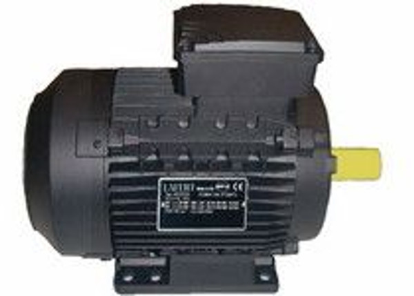 Lafert Motors MS80L4-460, 130 HP 460V COMPACT BRAKE MOTOR - 1800RPM