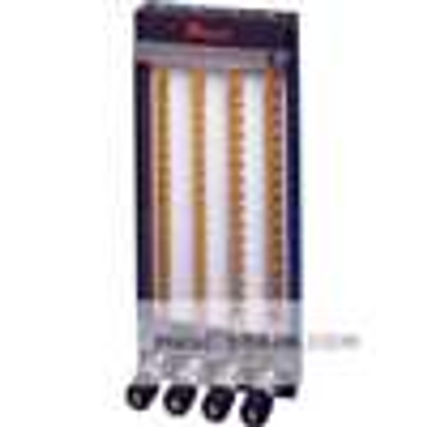 Dwyer Instruments MTF-1661, 65 mm frame, isolated pattern, 6 tube capacity, aluminum wetted parts