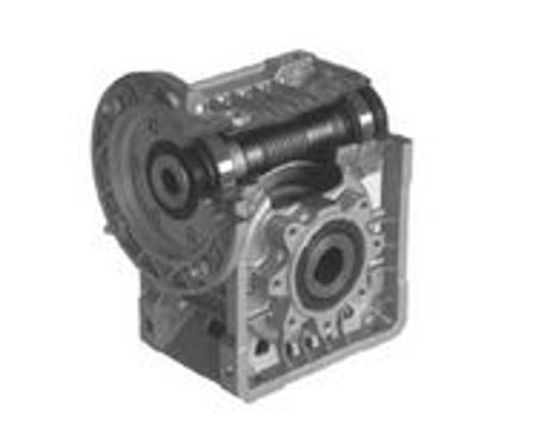 Lafert Motors MU50I100P11/140-SS, STAINLESS STEEL R ANGLE GBX  100:1 RATIO