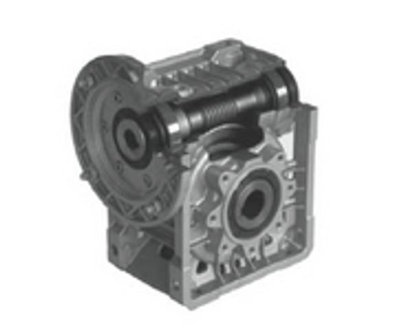 Lafert Motors MU50I25P19/120-SS, STAINLESS STEEL R ANGLE GBX  25:1 RATIO