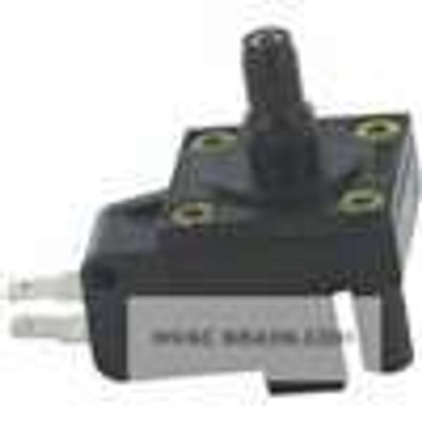 "Dwyer Instruments MVS-5, Miniature vacuum switch, min set point 9"" wc (21 mbar), max set point 80"" wc (199 mbar), 1/8"" male NPT process connection"