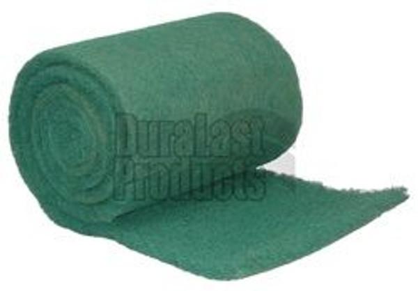 "DuraLast NR-125, 1""X25""X30' Hog Hair Bulk Roll Filter, 625sqft/roll"