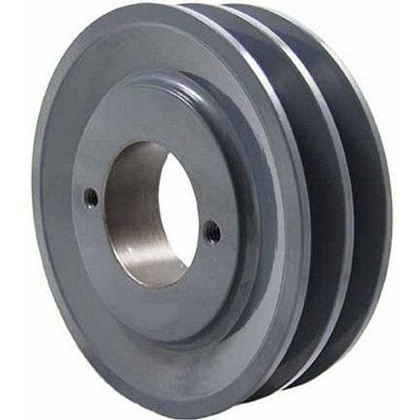 """Packard P2AK46H, Two Groove Bushing Pulleys For 4L Or A Belts 445"""" OD"""