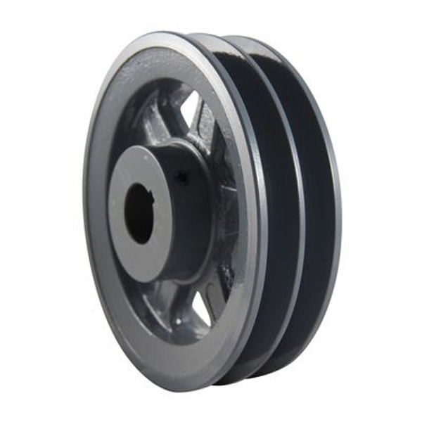 """Packard P2BK2558, Two Groove Pulleys For 4L Or A Belts And 5L Or B Belts 26"""" OD 5/8"""" Stock Bore"""