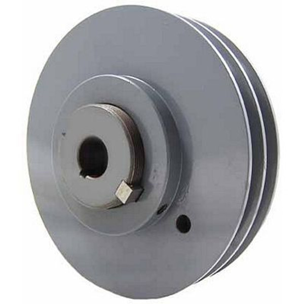 """Packard P2VP4258, Stock PVP Variable Pitch Double Groove Pulleys 395"""" OD"""