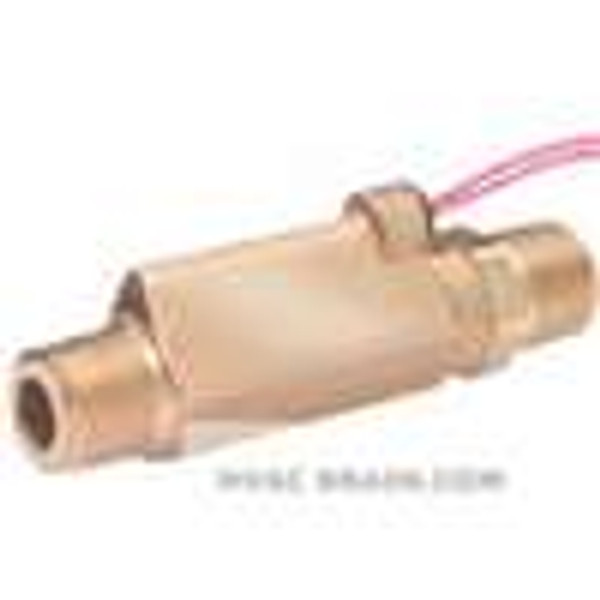 Dwyer Instruments P8-14, High pressure brass flow switch, actuation set point 15 GPM (568 LPM)