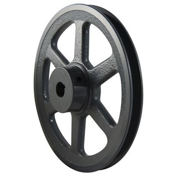 """Packard PAK2212, Single Groove Pulleys For 4L Or A Belts 22"""" OD 1/2"""" Stock Bore"""