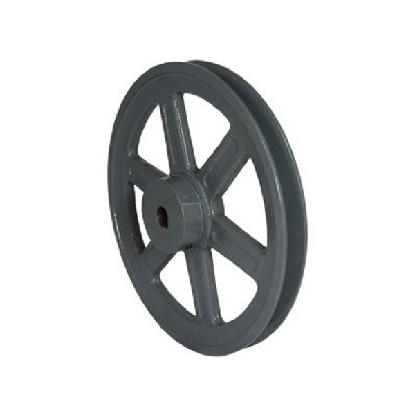 """Packard PBK5258, Single Groove Pulleys For 4L Or A Belts And 5L Or B Belts 495"""" OD 5/8"""" Stock Bore"""