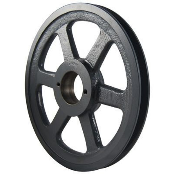 """Packard PBK65H, Single Groove Bushing Pulleys For 4L Or A Belts And 5L Or B Belts 625""""OD"""