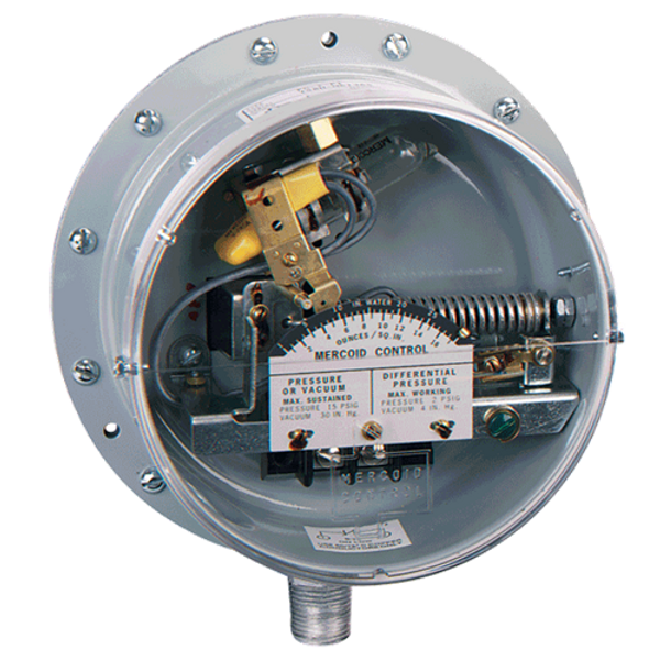 Dwyer Instruments PG-804-P2 DIAPH PRESS SW