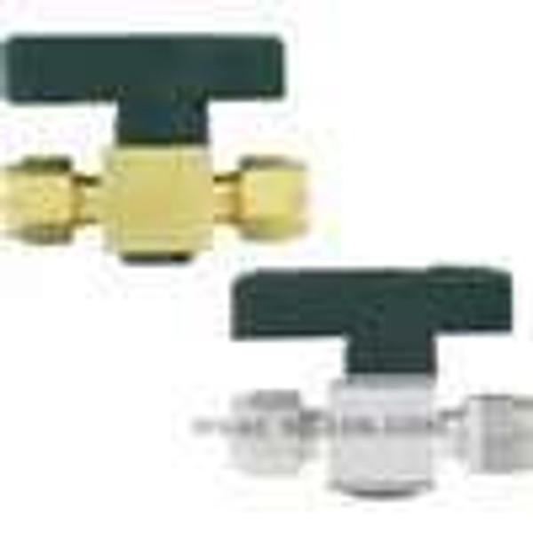 "Dwyer Instruments PGV-BF22, Plug valve, 1/4"" female NPT connection, 44 mm orifice"