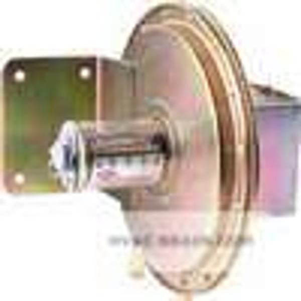 "Dwyer Instruments 1638-0, Large diaphragm pressure switch, range 005-025"" wc, approx deadband @ 004 min set point, 005 max set point"