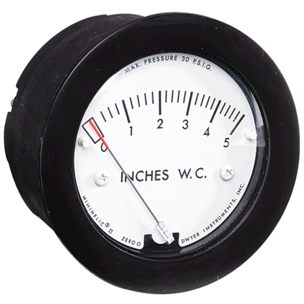 Dwyer Instruments 2-5000-1KPA-NPT MINIHELIC GAGE