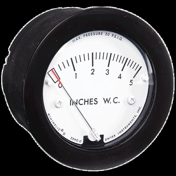 Dwyer Instruments 2-5000-500PA MINIHELIC GAGE