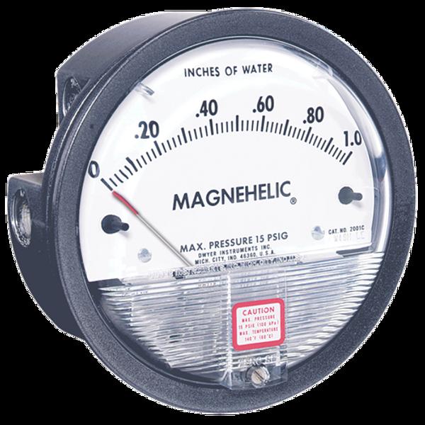 Dwyer Instruments 2000-0AV MAGNEHELIC GAGE
