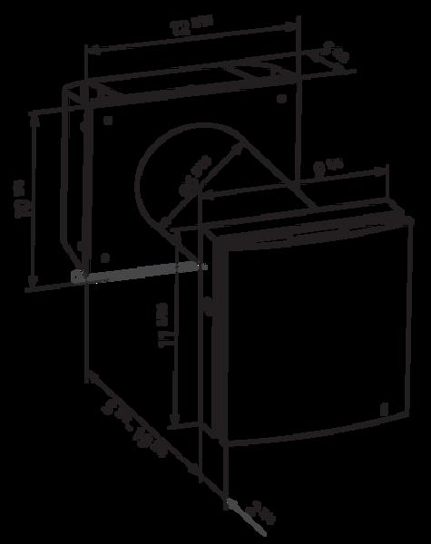 Vents US Twinfresh Expert RA1-50-2, Single Room Energy Recovery Ventilator