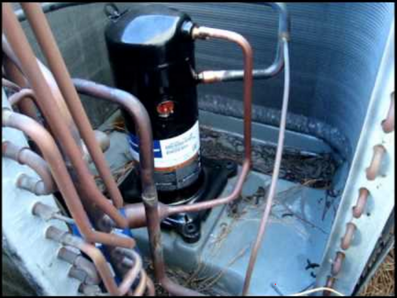 Diagnosing issues in a 3 phase air conditioning compressor