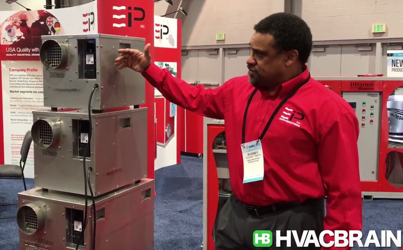 Video Showcase: A look at Ebac Industrial Products desiccant dehumidifiers