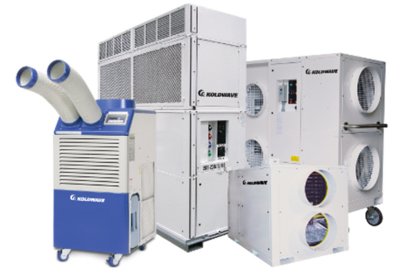 We now carry the complete line of KoldWave's Portable Air Conditioners