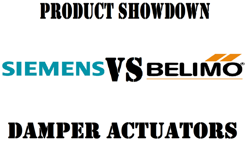 Product Showdown: Siemens VS Belimo Damper Actuators