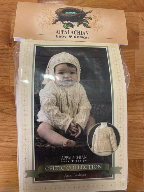 Appalachain Baby Aran Cardigan