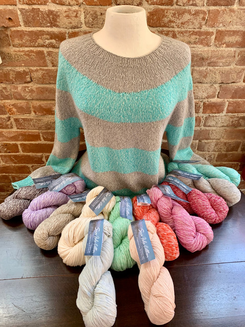 The perfect yarn for this Super Simple Summer Sweater by Joji Locatelli