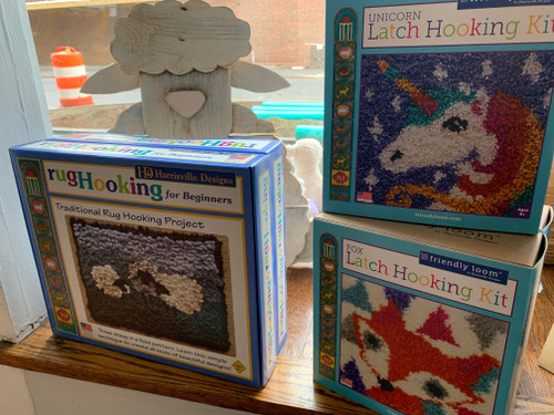 Rug Hooking & Latch Hook kits