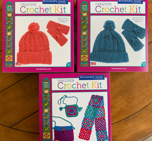 Friendly Loom Crochet Kits