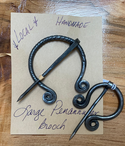 Hand forged in Salem, VA.