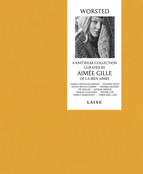 Worsted – A Knitwear Collection Curated by Aimée Gille of La Bien Aiméeis now available for preorders.