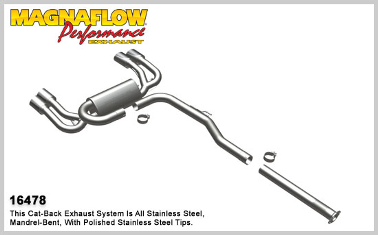 Magnaflow Cat Back Exhaust >> Magnaflow Cat Back Exhaust For 2 0t 2010 14 Genesis Coupe
