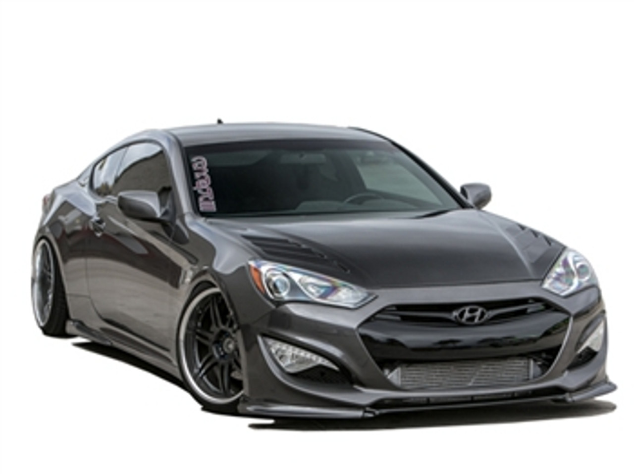 Genesis Coupe 2016 >> Rksport Carbon Fiber Vented Hood For Hyundai Genesis Coupe 2013 2016